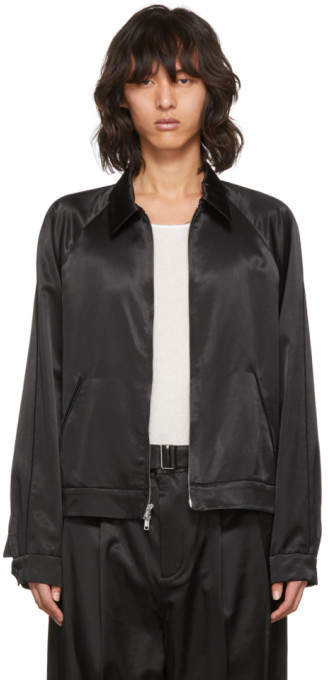 3.1 Phillip Lim Black Have a Nice Day Jacket