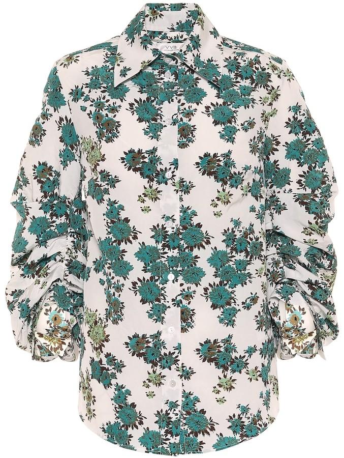 Victoria Victoria Beckham Floral blouse