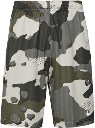 Nike Training - Wide-Leg Camouflage-Print Mesh-Backed Dri-FIT Shorts - Men