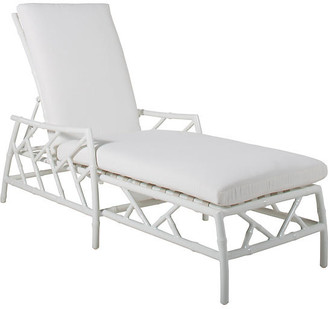 Celerie Kemble For One Kings Lane Kit Chaise - White