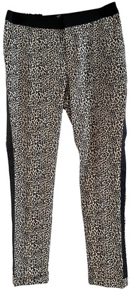 Alix Black Cloth Trousers for Women