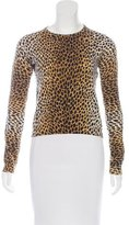 Dolce & Gabbana Printed Long Sleeve Sweater
