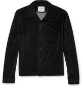 Noon Goons Cotton-blend Velour Shirt - Black