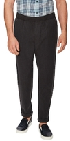 Vince Linen Ankle Zip Pleated Trousers