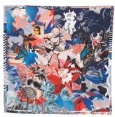 Christian Lacroix Women's Jardin Centaure Square Silk Scarf