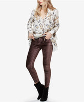 Free People Bowie Velvet Skinny Pants