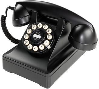 Wild & Wolf - Dreyfuss Series 302 desk phone - BLACK - Red/Black