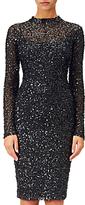 Adrianna Papell Sequin Dress, Black