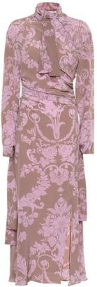 Acne Studios Printed silk dress