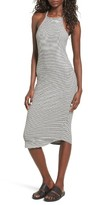 LnA Women's Square Neck Dress