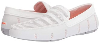 Swims Striped Venetian Loafer (Turkish Tile/Navy) Men's Shoes