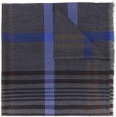 Church's checked scarf