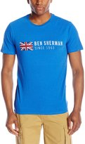 Ben Sherman Men's Since 1963 Union Jack T-Shirt