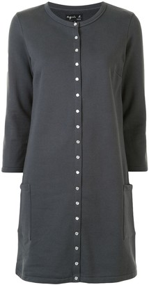 agnès b. Short Cardigan Dress