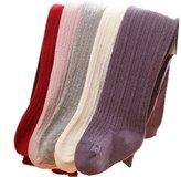 GRyiyi 6 Pair Baby Girls Heel and Toe Winter Tights Multicoloured