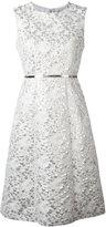 Max Mara Aurelia jacquard dress - women - Cotton/Acrylic/Polyester/Silk - 44