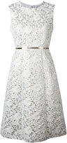Max Mara Aurelia jacquard dress - women - Silk/Cotton/Acrylic/Other fibres - 44
