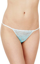 Betsey Johnson Ombre Lace Thong