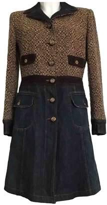 Dolce & Gabbana Multicolour Wool Coats