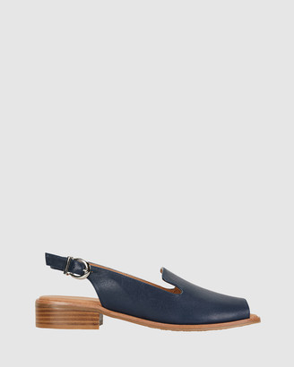 Easy Steps - Women's Navy Heeled Sandals - Delaney - Size One Size, 37 at The Iconic