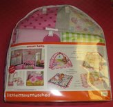 Kids Line Little MissMatched 5 Piece Monkey Collection Crib Set
