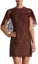 Dress the Population Shelby Metallic Sheath Dress