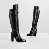 Tommy Hilfiger Leather Over-The-Knee Boot Gigi Hadid