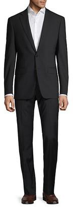 Calvin Klein Slim-Fit Stripe Suit