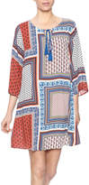 Umgee USA Square Print Dress