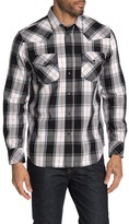 Diesel Plaid Printed Long Sleeve Shirt