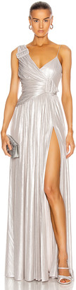 retrofete for FWRD Natalie Dress in Silver | FWRD