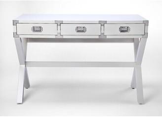 Everly Wimborne Solid Wood Desk Quinn Color: White