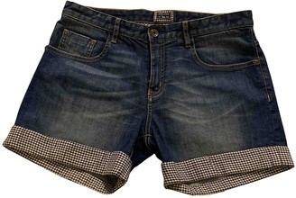 Woolrich Blue Denim - Jeans Shorts for Women