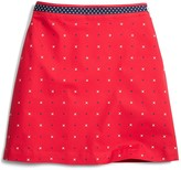 Brooks Brothers Cotton A-Line XO Skirt