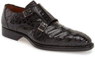 Mezlan 'Prague' Genuine Crocodile Double Monk Strap Shoe