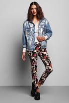 Urban Outfitters Rag Union x Urban Renewal Foil Front Denim Jacket