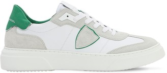 Philippe Model Temple Leather Suede Sneakers