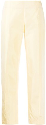 Emilio Pucci Pre-Owned 1960s High-Waisted Cropped Trousers
