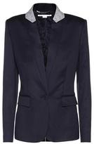 Stella McCartney Fleur wool blazer
