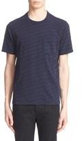 Rag & Bone 'Blake' Stripe Cotton T-Shirt