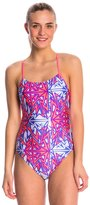 Nike Swim Zap It Cut Out Tank One Piece Swimsuit 7539365