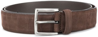 Andersons Crocodile-Effect Embossed Belt