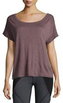 Vimmia Serenity Cutaway-Back Tee, Light Brown