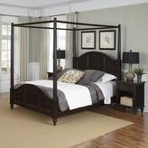 Home Styles Bermuda 3-piece Canopy Bed and Nightstand Set
