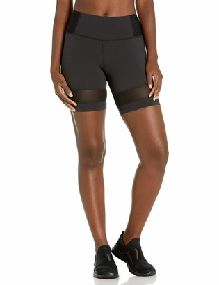 Body Glove Active Women's Mercury Performance FIT Activewear Short with Pintuck Detail