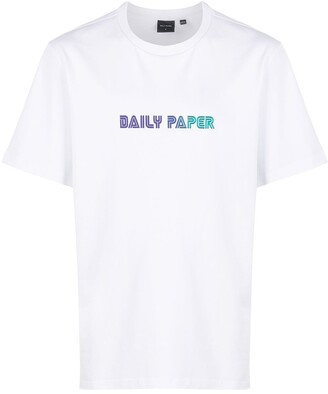 Daily Paper logo-print boxy T-shirt