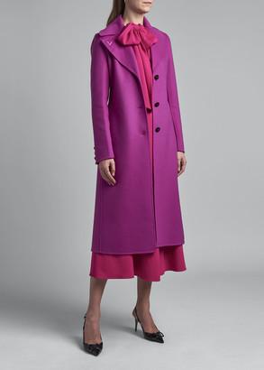 Valentino Wool-Cashmere Coat