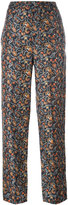 Isabel Marant foliage print tapered trousers