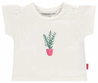 Noppies Baby Girls' G Tee Boxy ss Silvis T-Shirt