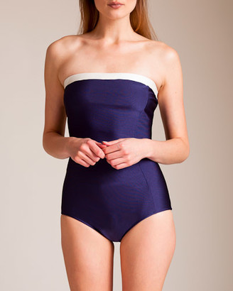 Adriana Degreas Riviera Strapless Swimsuit